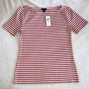 NWT Ann Taylor Factory Striped Shirt